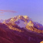 Vue sur le Mont-Blanc (Savoie, FR)